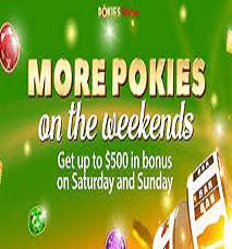 Pokies Parlour Casino No Deposit Promos